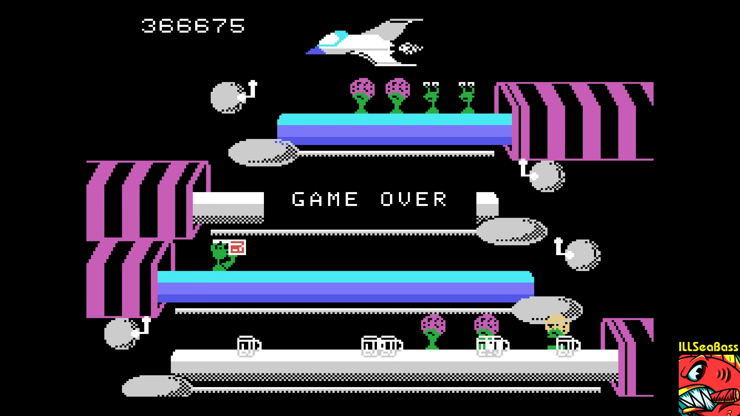 ILLSeaBass: Tapper (Colecovision Emulated) 366,675 points on 2018-02-12 22:38:12