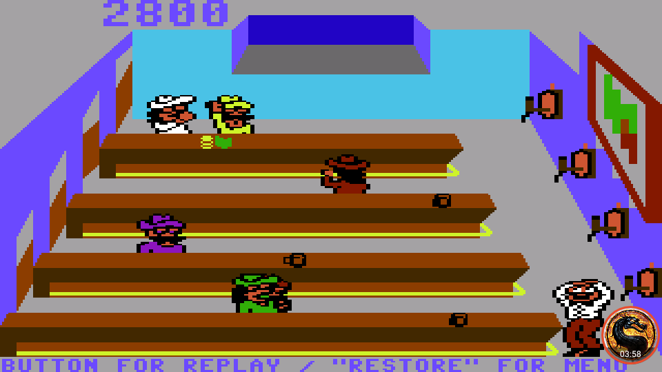omargeddon: Tapper (Commodore 64 Emulated) 2,800 points on 2019-09-08 12:51:37
