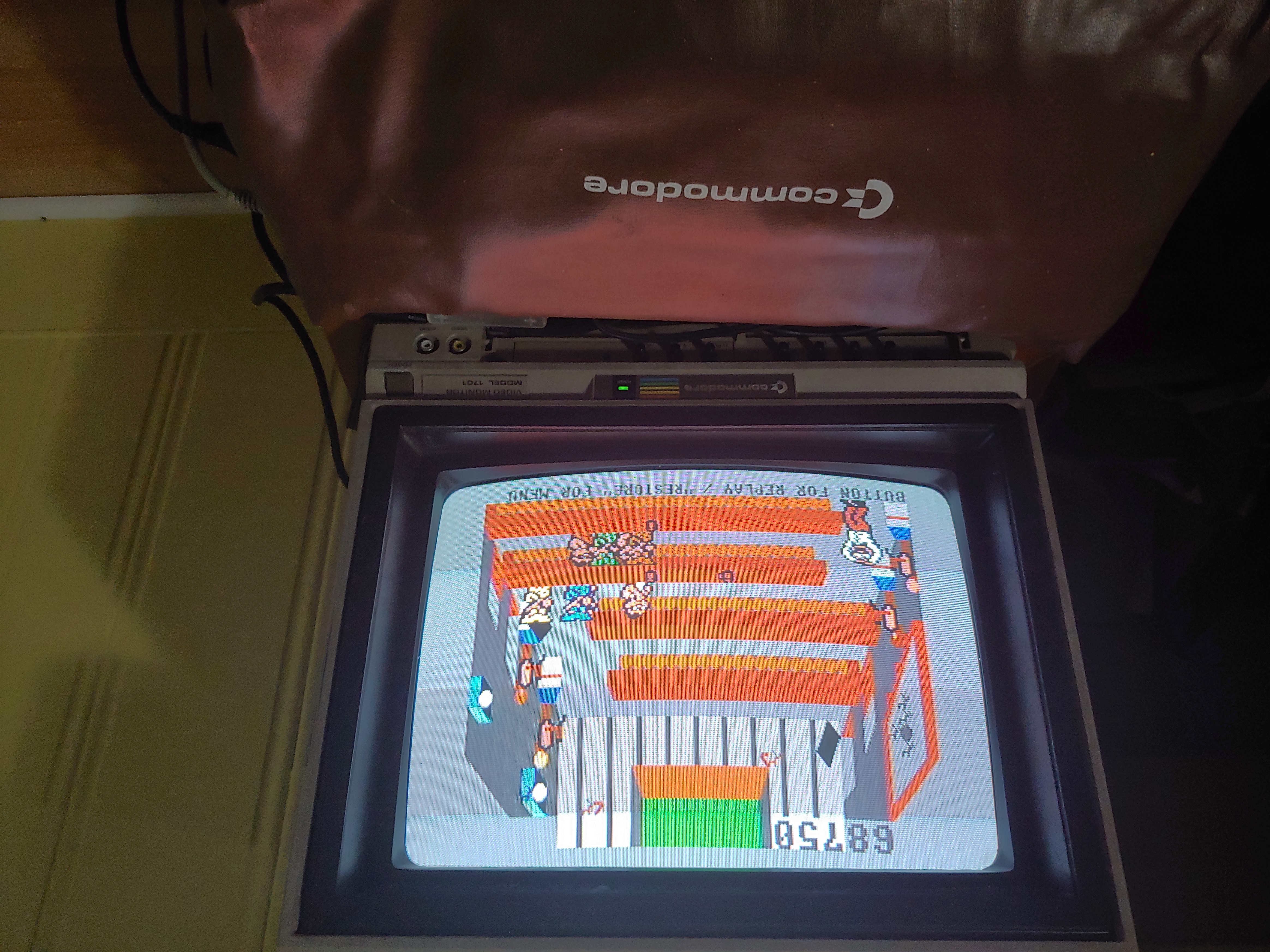 sajattack: Tapper (Commodore 64) 68,750 points on 2019-12-02 20:48:26