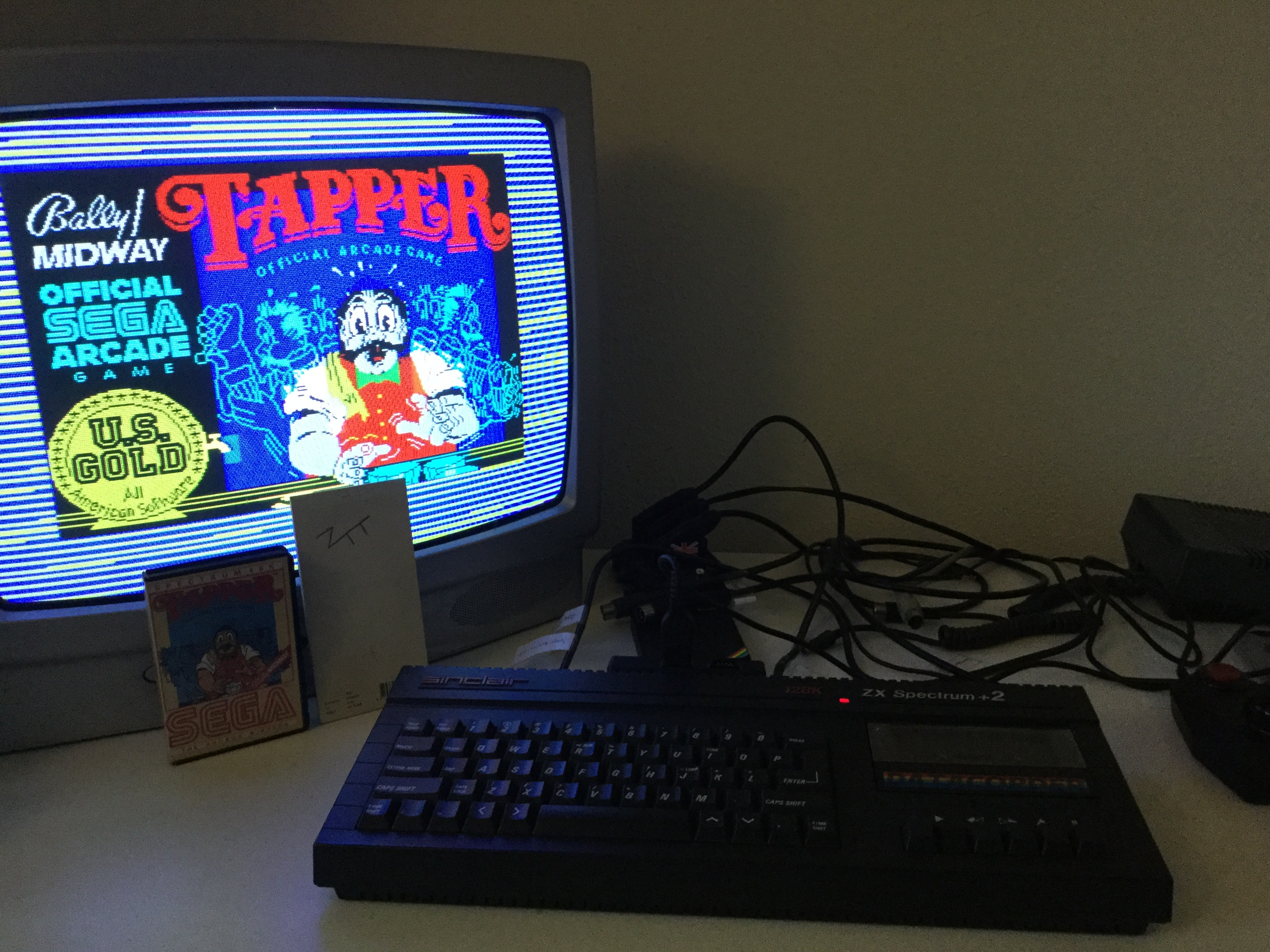 Frankie: Tapper [Easy] (ZX Spectrum) 237,800 points on 2019-03-07 02:09:54