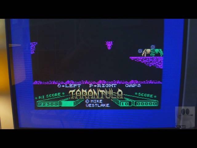 GTibel: Tarantula [Creative Sparks] (ZX Spectrum) 22,300 points on 2019-07-21 11:04:10