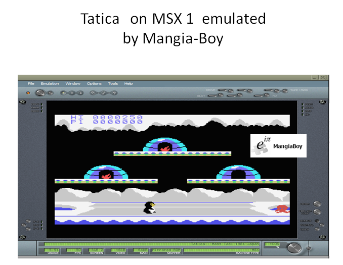 MangiaBoy: Tatica ([Normal] (MSX Emulated) 250 points on 2018-12-31 04:18:15