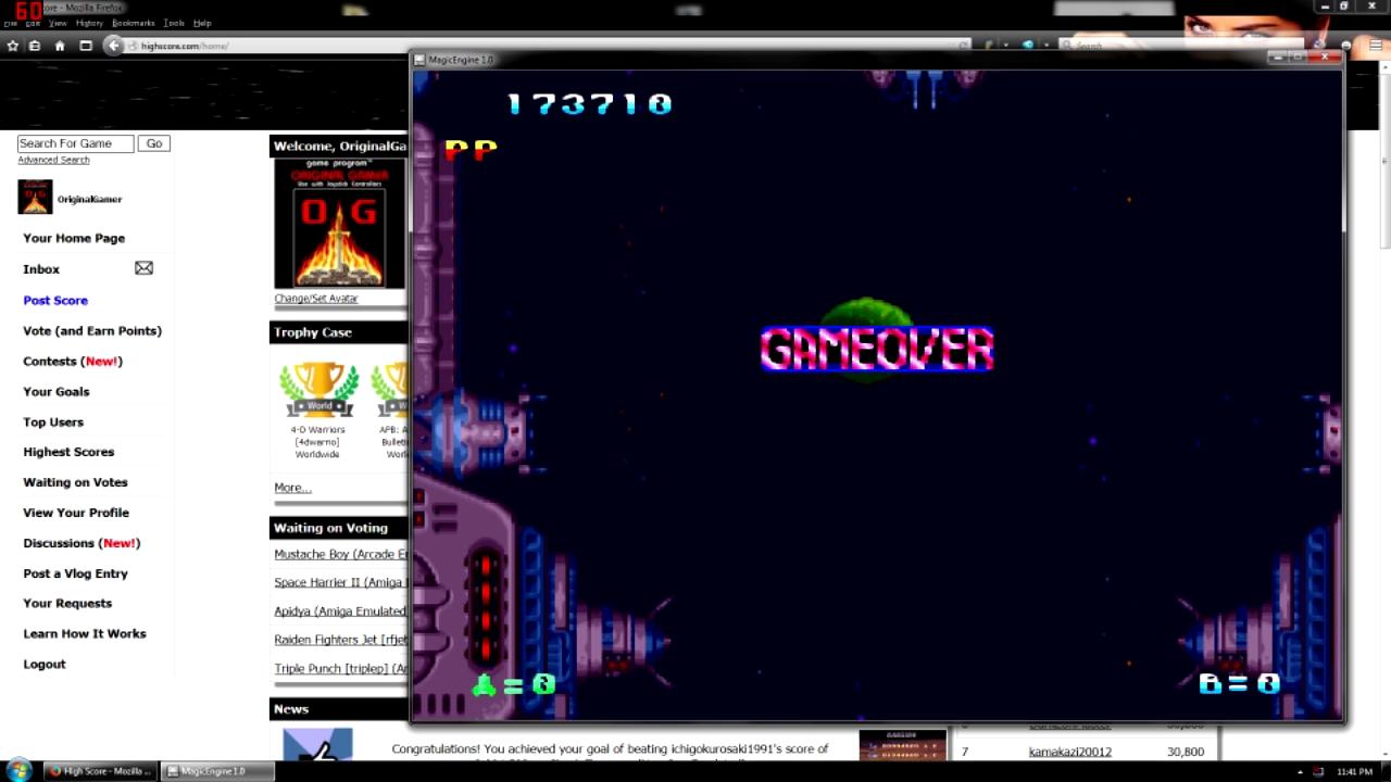 OriginalGamer: Tatsujin (TurboGrafx-16/PC Engine Emulated) 173,710 points on 2015-10-05 01:23:15