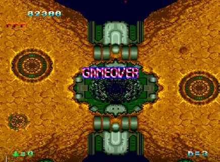 S.BAZ: Tatsujin (TurboGrafx-16/PC Engine Emulated) 82,300 points on 2018-09-27 15:36:57
