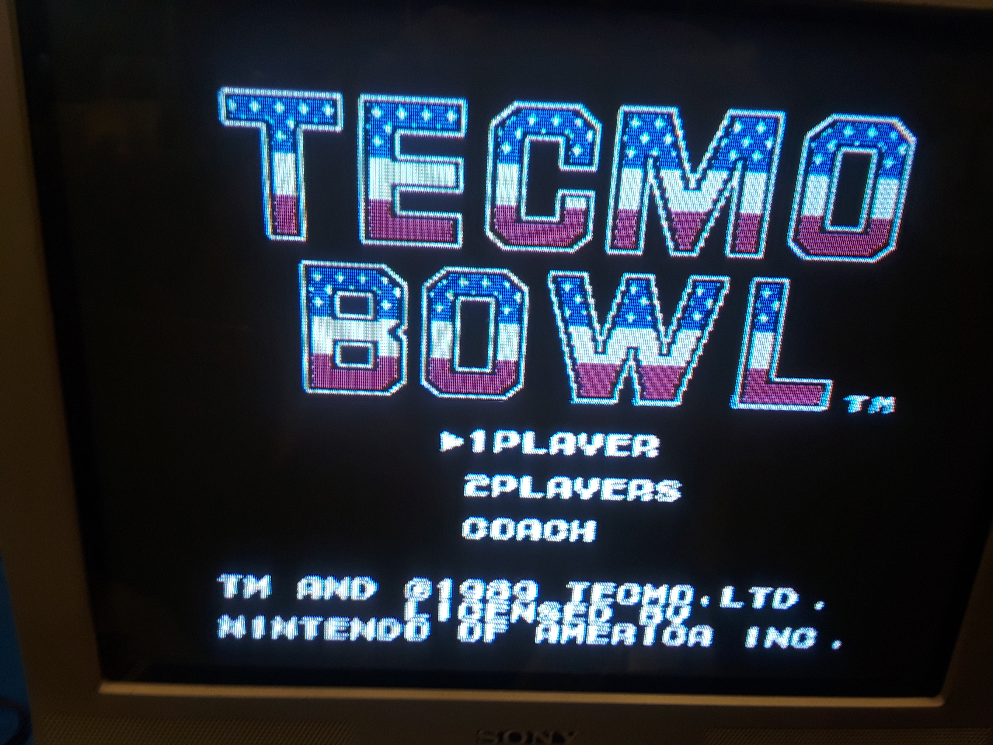Tecmo Bowl [Point Difference] 38 points