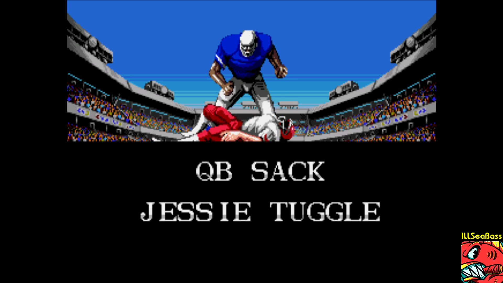ILLSeaBass: Tecmo Super Bowl [Least Yards Allowed] [Pro Bowl] (Sega Genesis / MegaDrive Emulated) 53 points on 2018-01-29 01:31:55