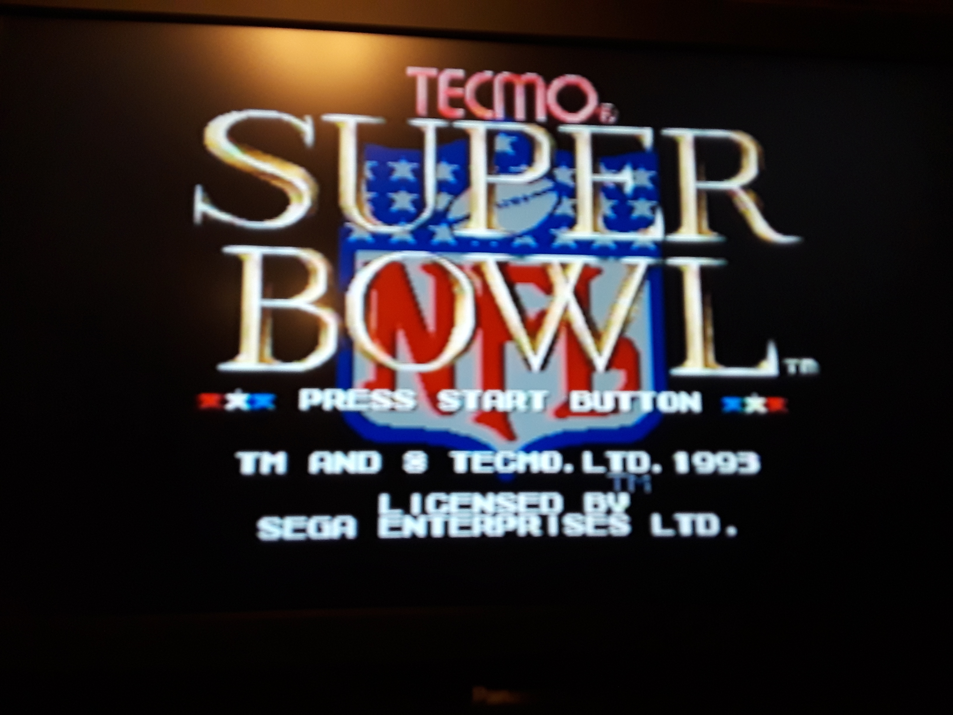 Tecmo Super Bowl [Most Passing Yards] [Pro Bowl] 393 points