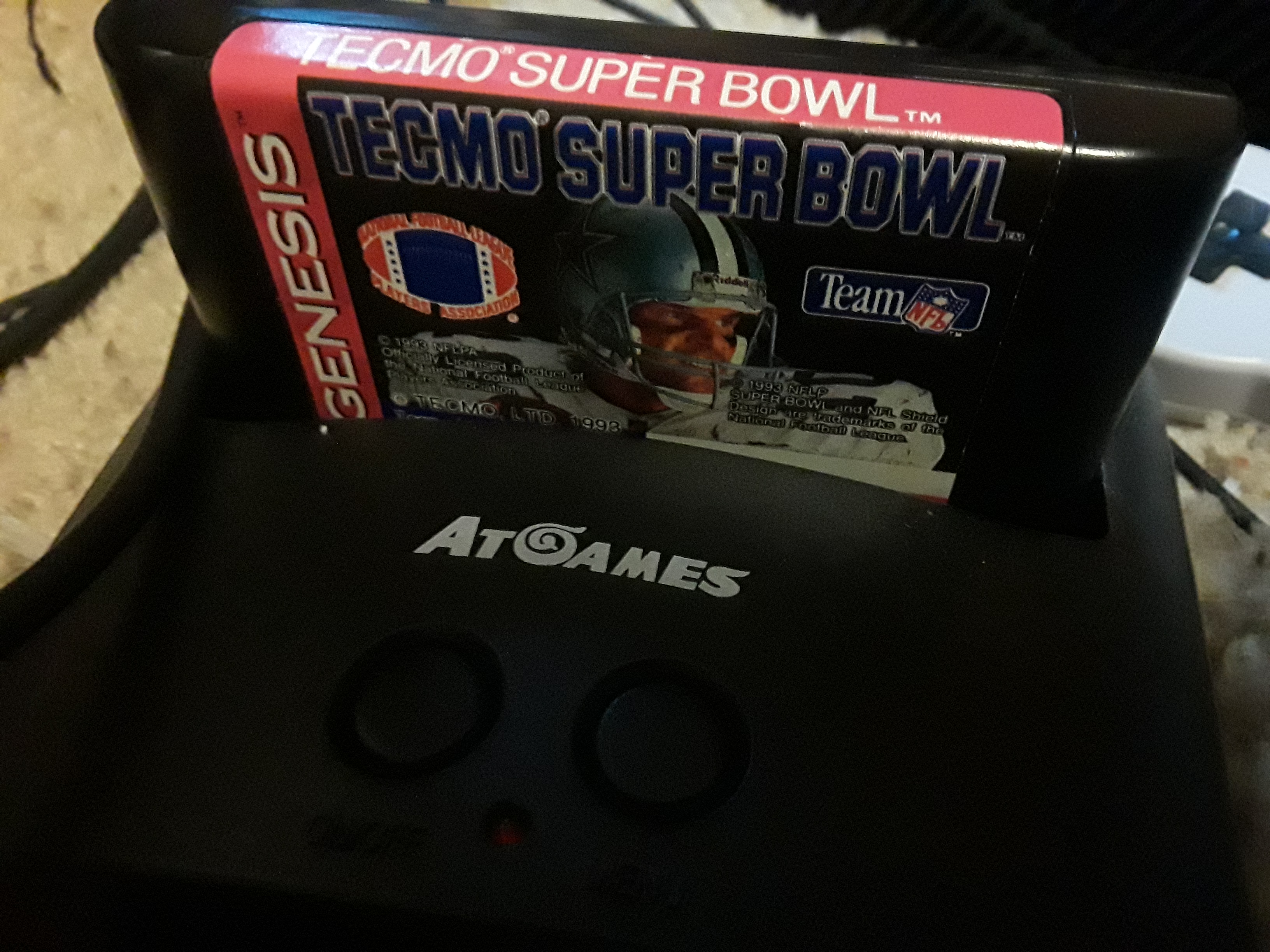 Tecmo Super Bowl [Most Receiving Yards] [Pro Bowl] 396 points