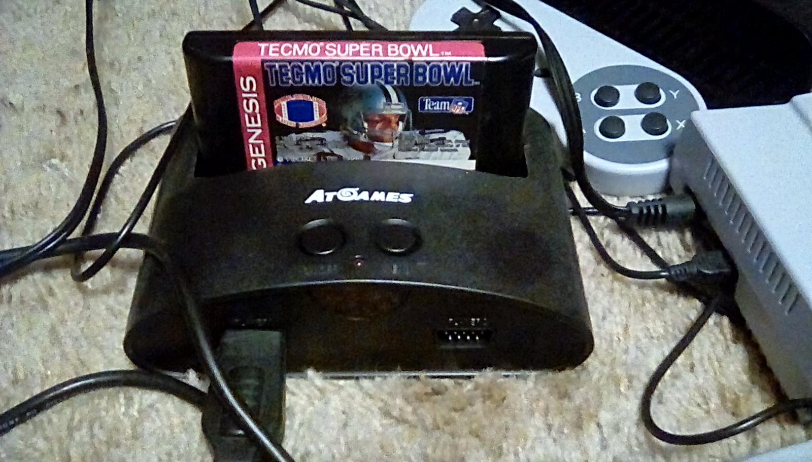 JML101582: Tecmo Super Bowl [Most Receiving Yards] [Pro Bowl] (Sega Genesis / MegaDrive Emulated) 572 points on 2019-01-19 20:11:50