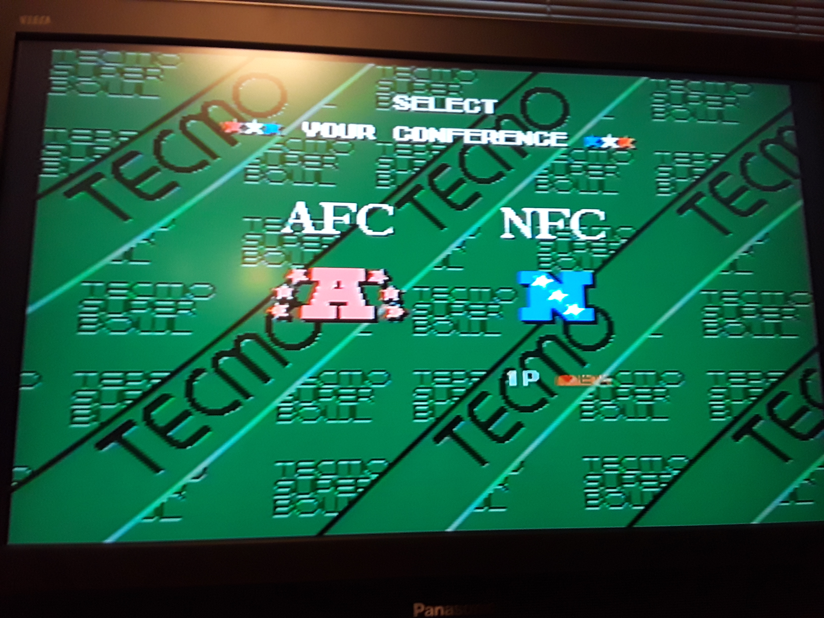 Tecmo Super Bowl [Most Receptions] [Pro Bowl] 10 points