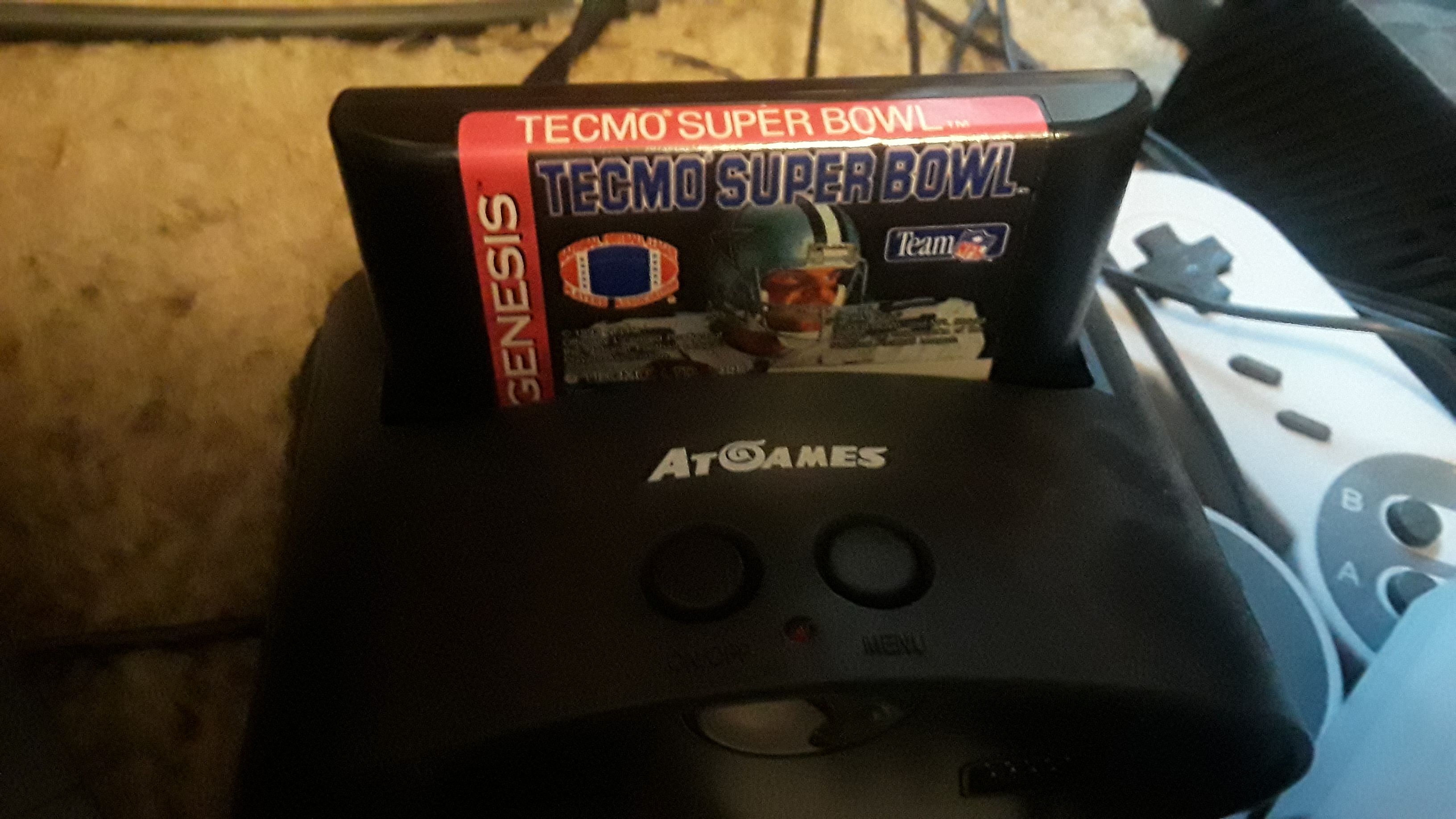Tecmo Super Bowl [Most Rushing Attempts] [Pro Bowl] 66 points