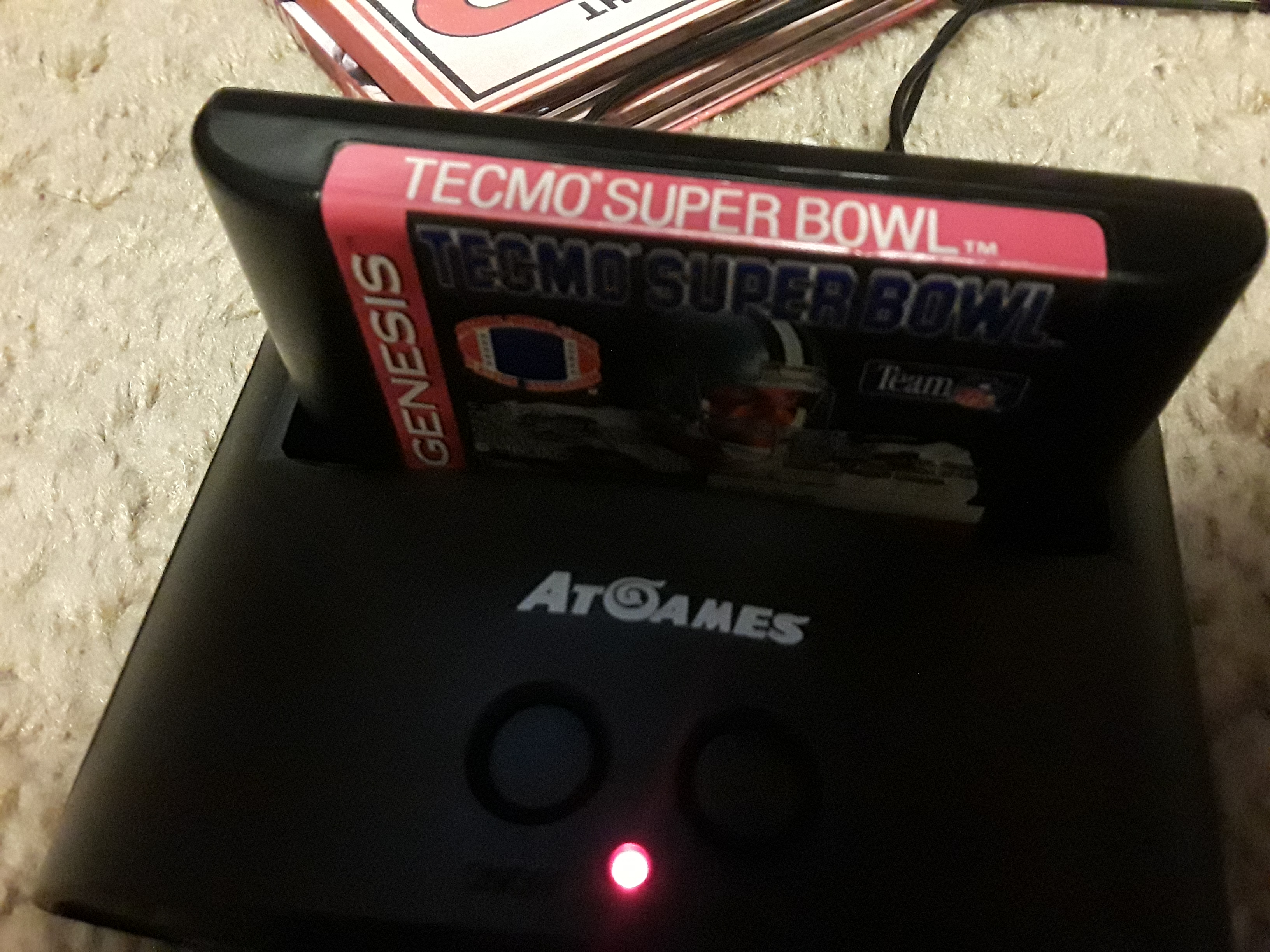 Tecmo Super Bowl [Most Total Yards In A Preseason Game] 419 points
