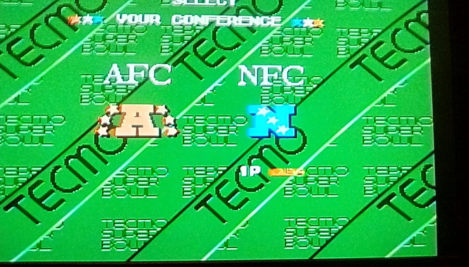 Tecmo Super Bowl [Most Total Yards] [Pro Bowl] 574 points