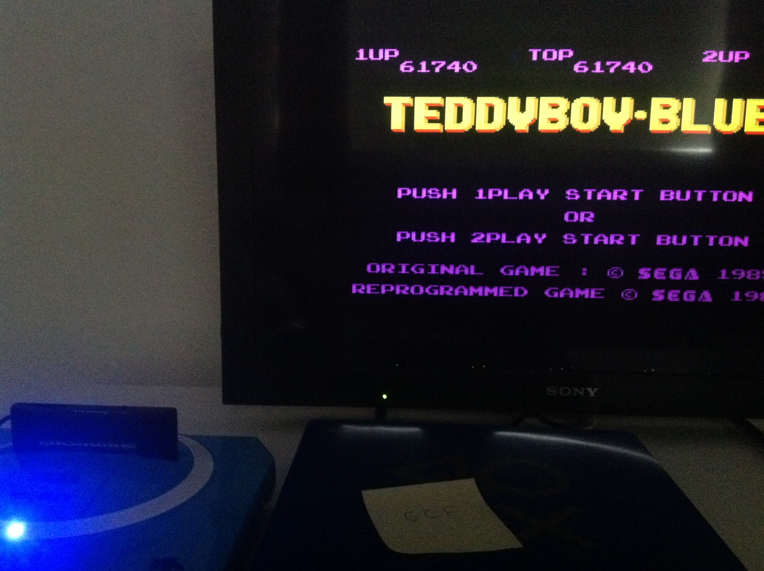 CoCoForest: Teddy Boy Blues (Sega Master System) 61,740 points on 2018-07-23 09:02:17
