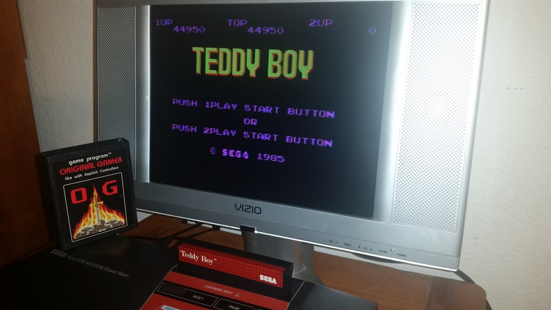 OriginalGamer: Teddy Boy (Sega Master System) 44,950 points on 2016-11-17 23:46:58