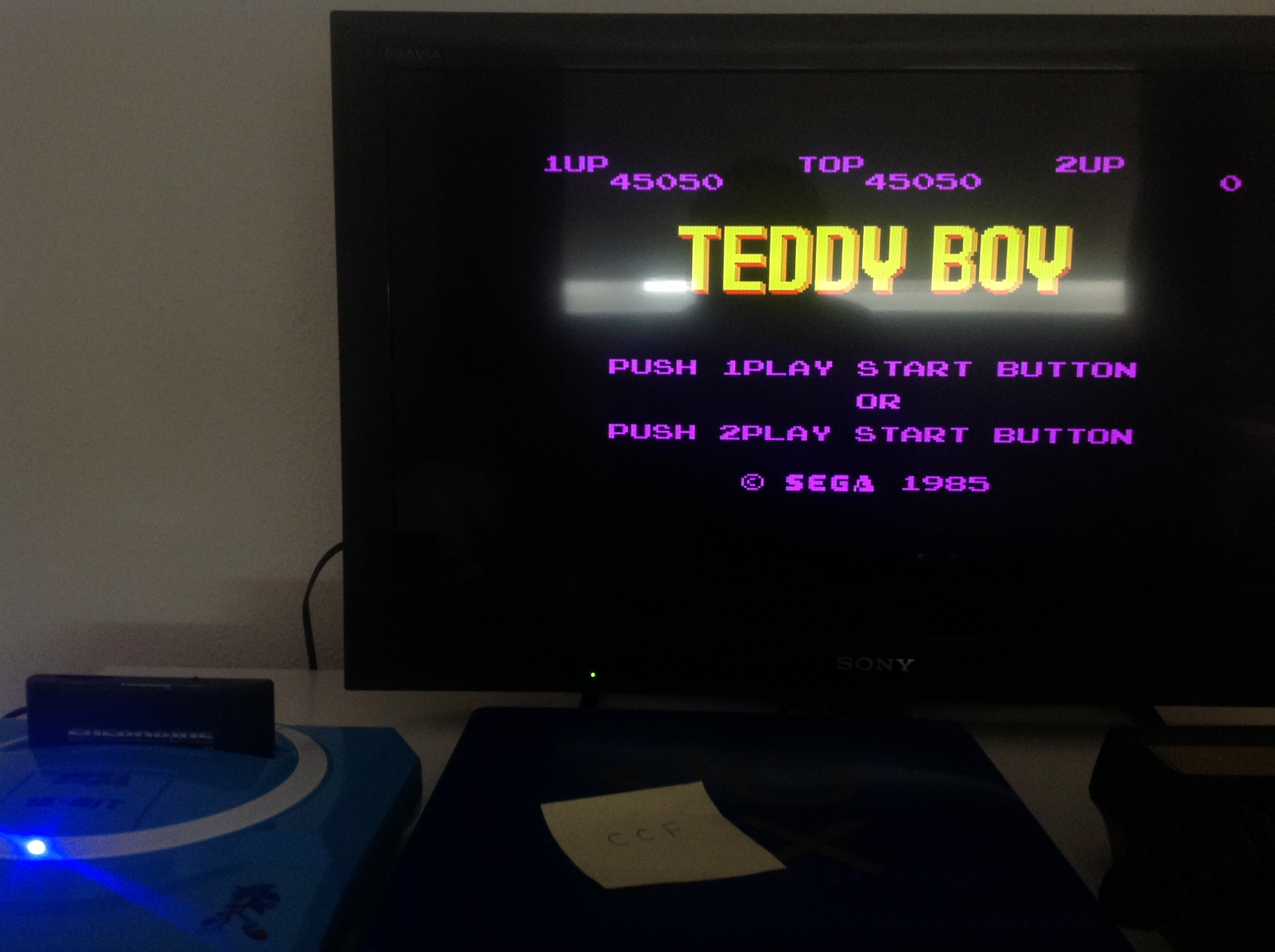 Teddy Boy 45,050 points