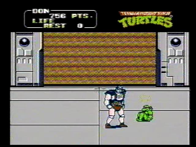trivia212005: Teenage Mutant Ninja Turtles II: The Arcade Game [10 Lives Start] (NES/Famicom) 756 points on 2017-09-28 16:42:52