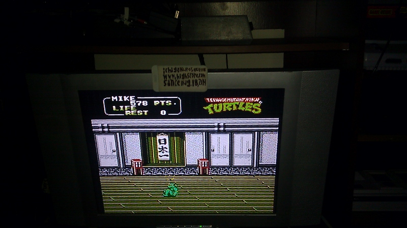 ichigokurosaki1991: Teenage Mutant Ninja Turtles II: The Arcade Game (NES/Famicom) 578 points on 2016-09-22 12:37:45
