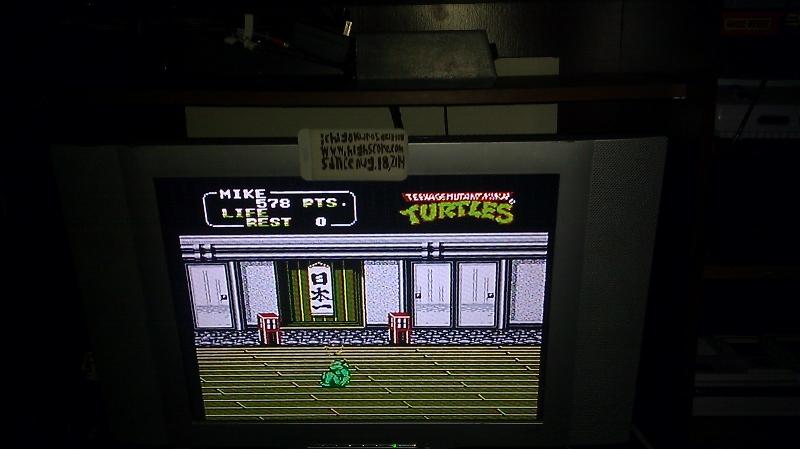 Teenage Mutant Ninja Turtles II: The Arcade Game 578 points