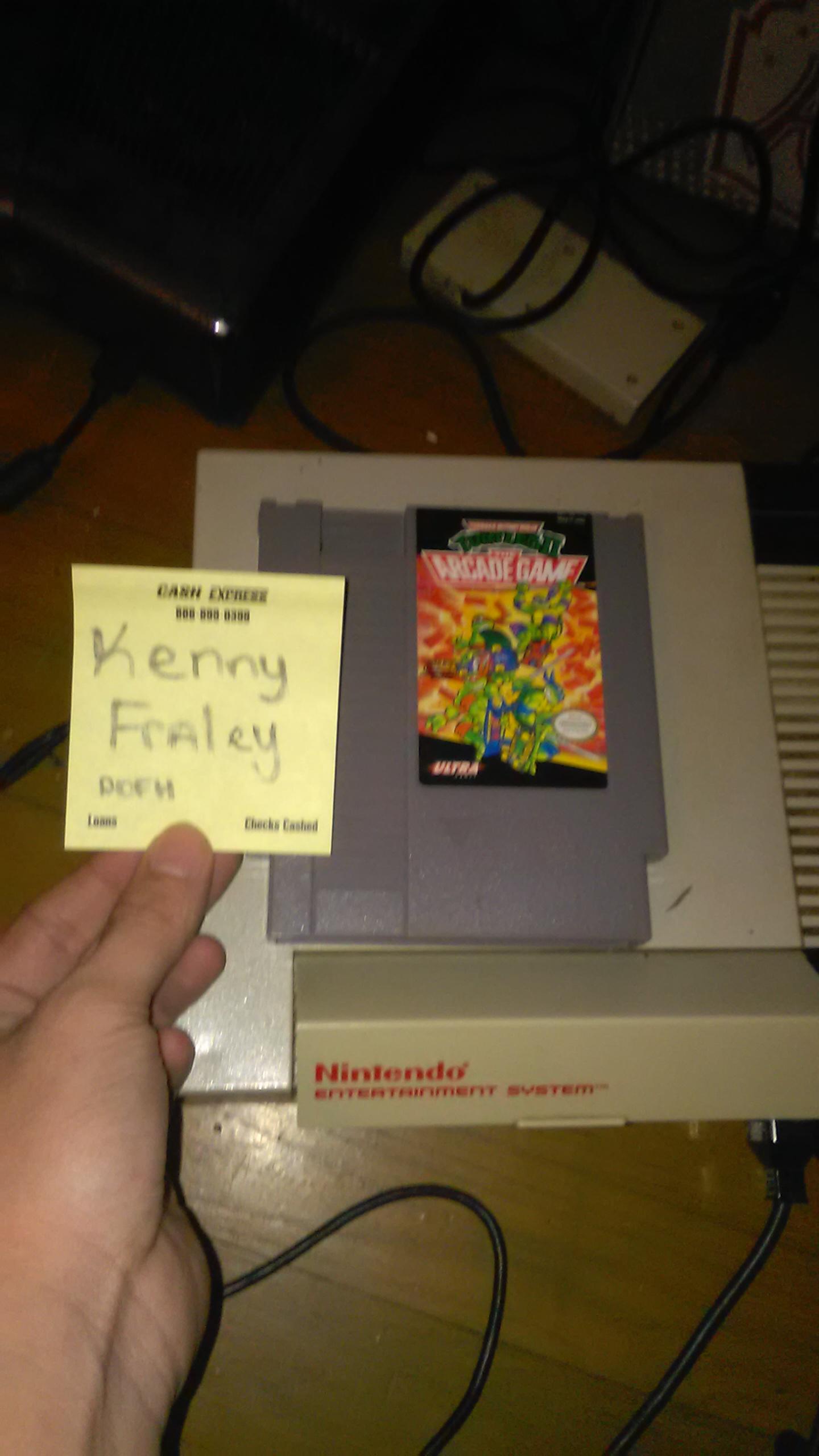 kennyfraley: Teenage Mutant Ninja Turtles II: The Arcade Game (NES/Famicom) 160 points on 2016-09-30 22:29:33