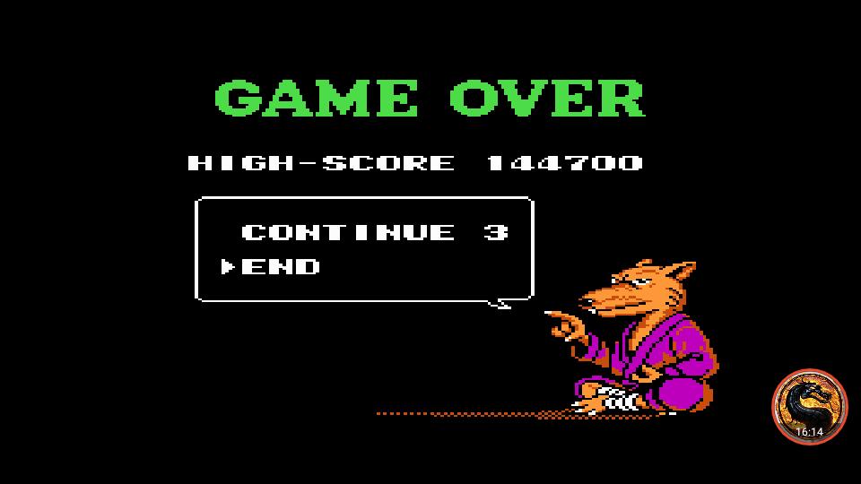 omargeddon: Teenage Mutant Ninja Turtles III: The Manhattan Project (NES/Famicom Emulated) 144,700 points on 2019-07-15 00:44:04