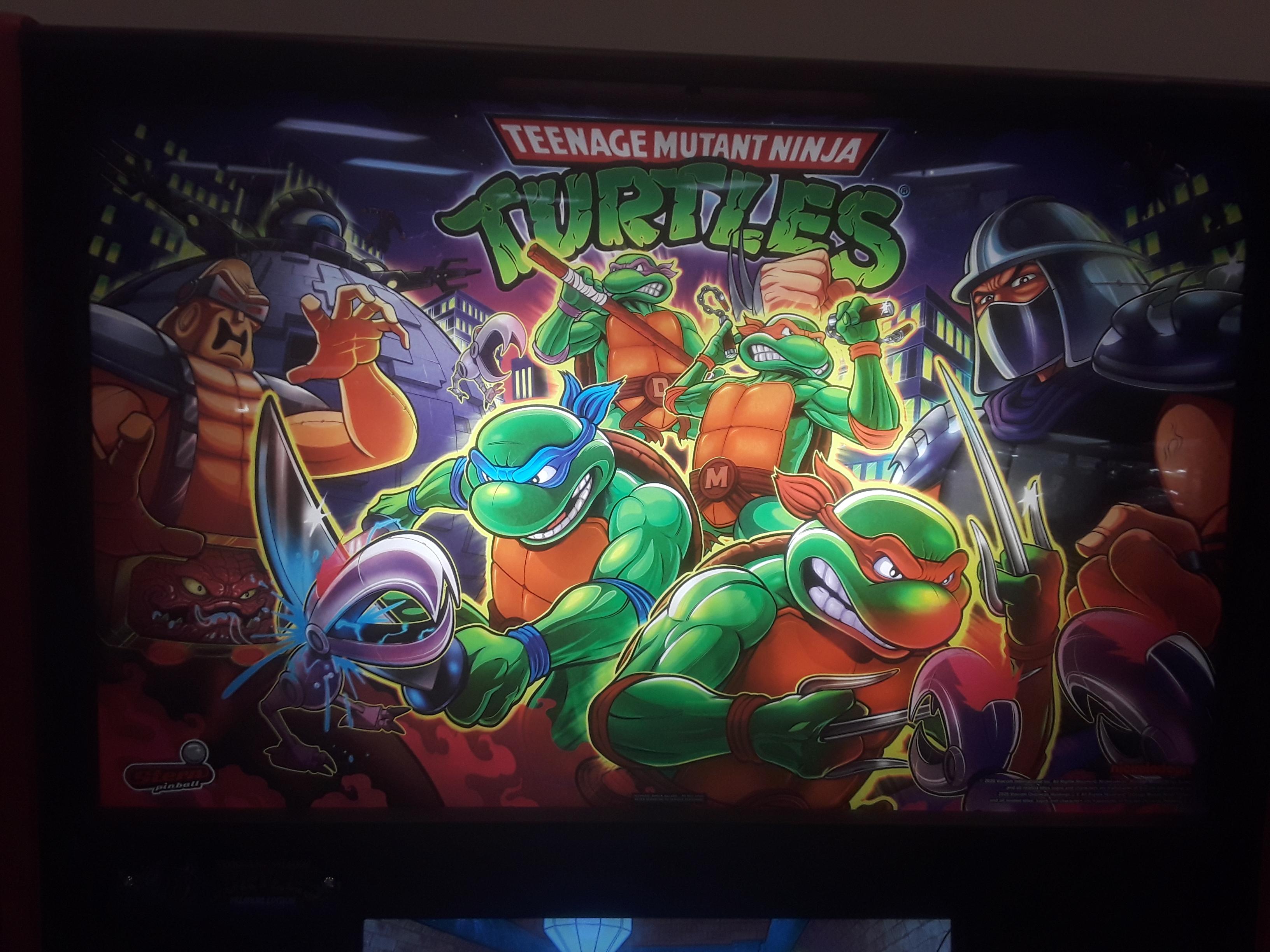 JML101582: Teenage Mutant Ninja Turtles (Pinball: 3 Balls) 1,150,863 points on 2021-03-26 16:41:05