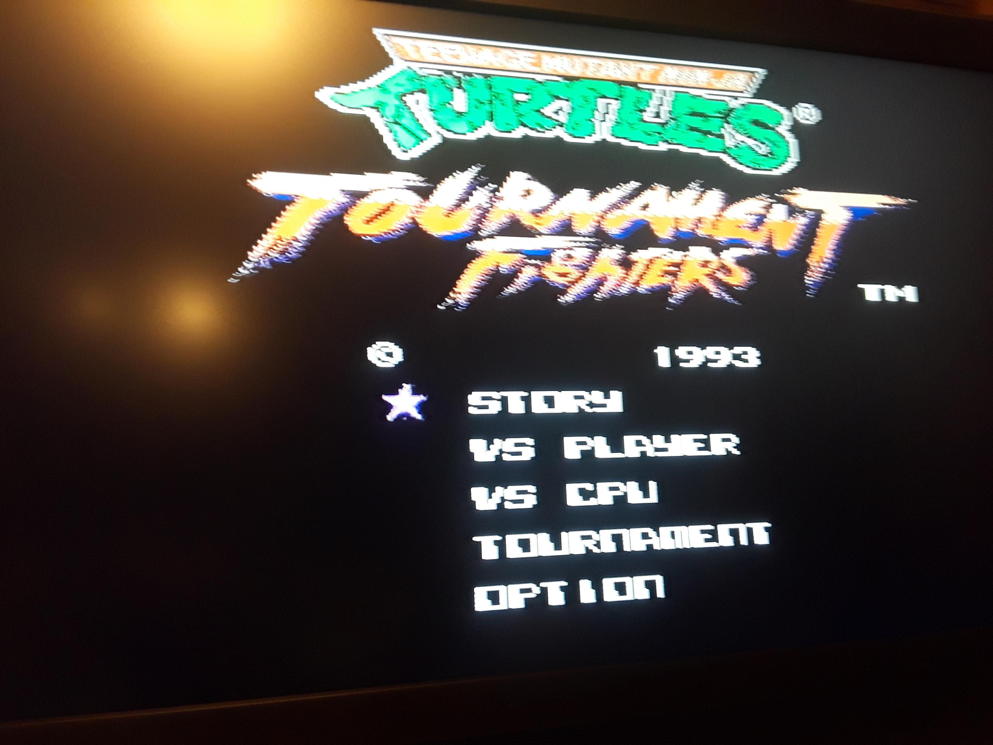 Teenage Mutant Ninja Turtles: Tournament Fighters 13,500 points