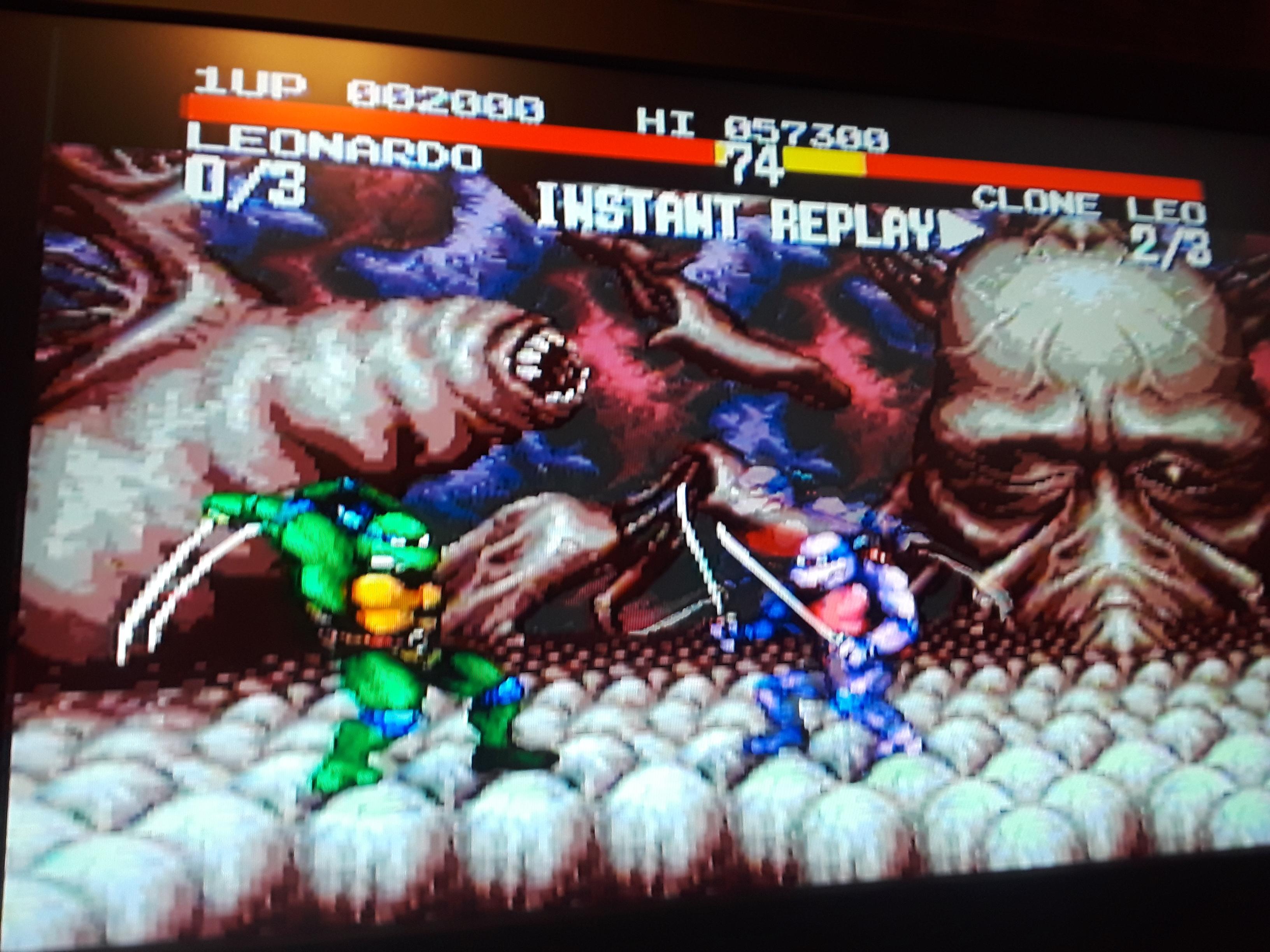 JML101582: Teenage Mutant Ninja Turtles: Tournament Fighters (Sega Genesis / MegaDrive Emulated) 2,000 points on 2018-10-20 20:42:03