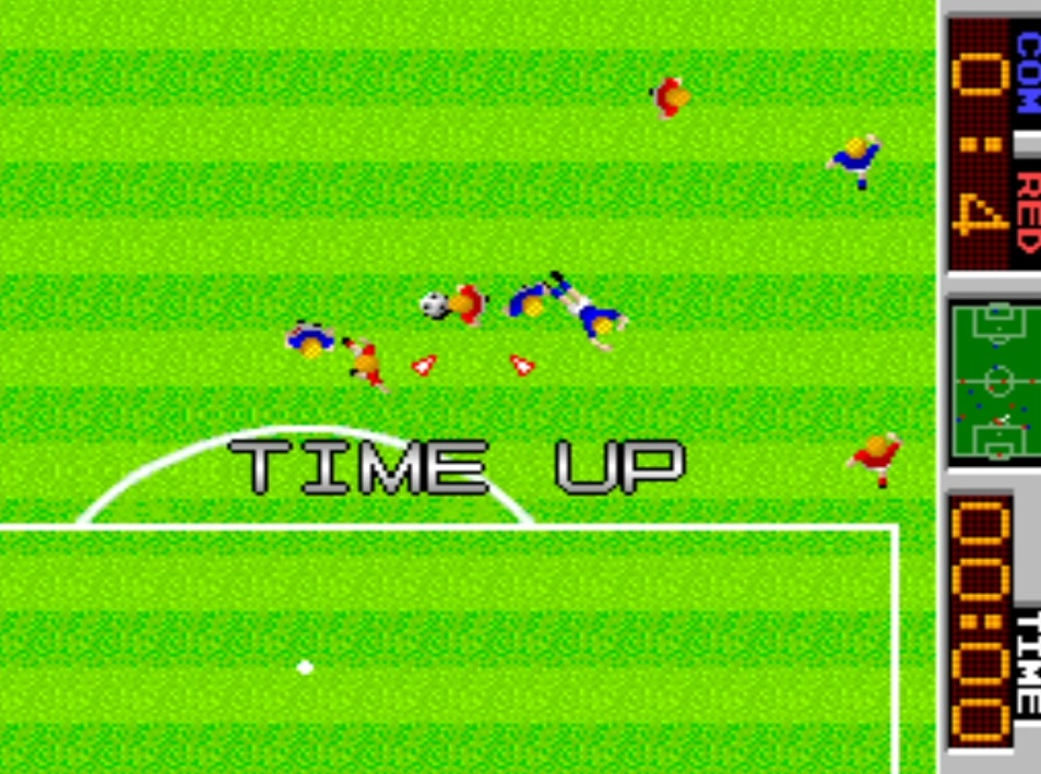 LuigiRuffolo: Tehkan World Cup: Fourth Match [Point Difference] [tehkanwc] (Arcade Emulated / M.A.M.E.) 4 points on 2020-12-25 05:09:53