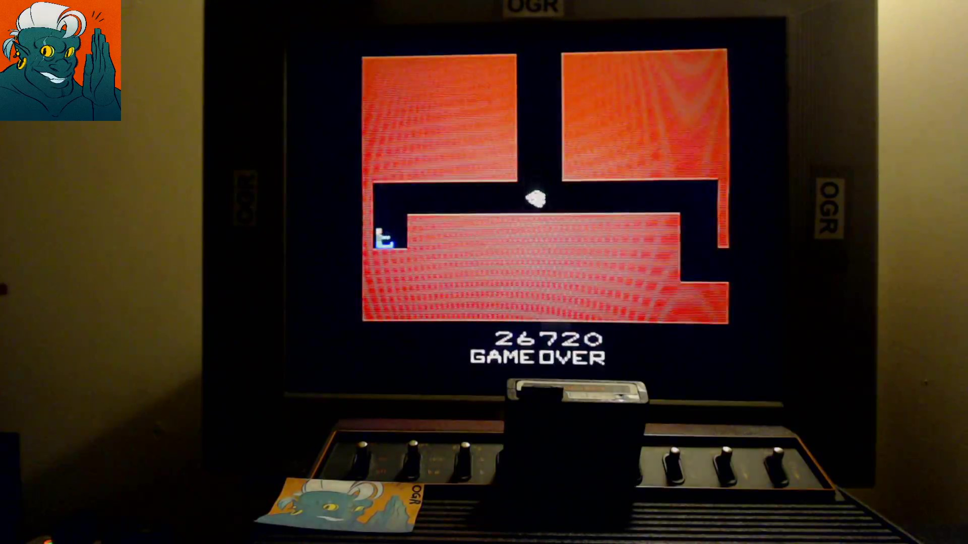 AwesomeOgre: Telepathy (Atari 2600) 26,720 points on 2019-10-21 17:03:36