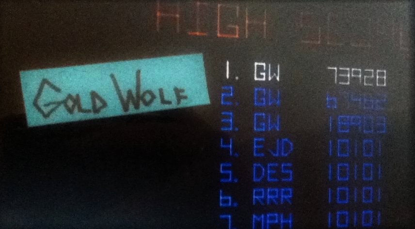 GoldWolf: Tempest (Arcade Emulated / M.A.M.E.) 73,928 points on 2016-08-22 11:35:59