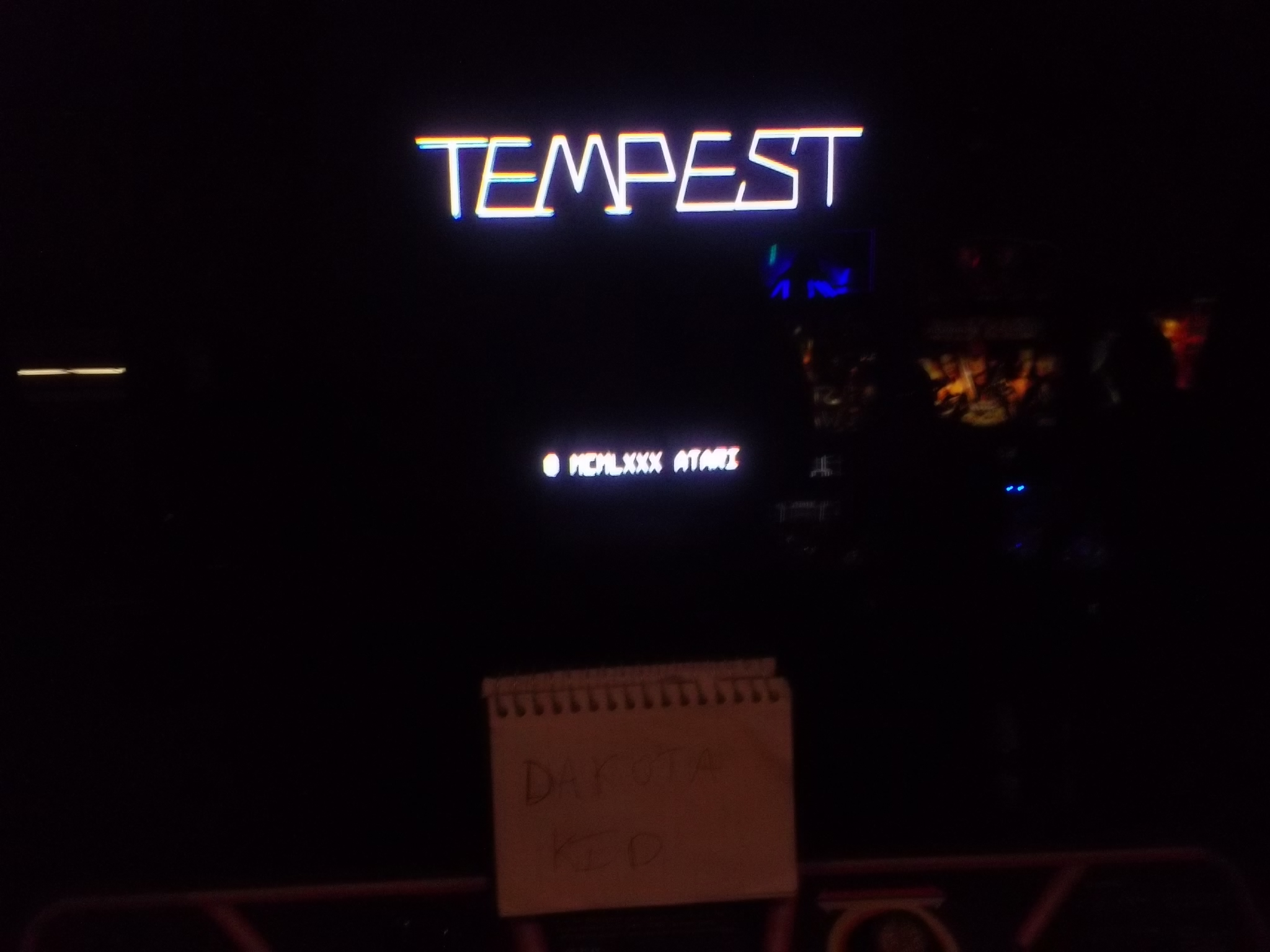 DakotaKid: Tempest (Arcade) 114,383 points on 2017-05-04 14:04:56