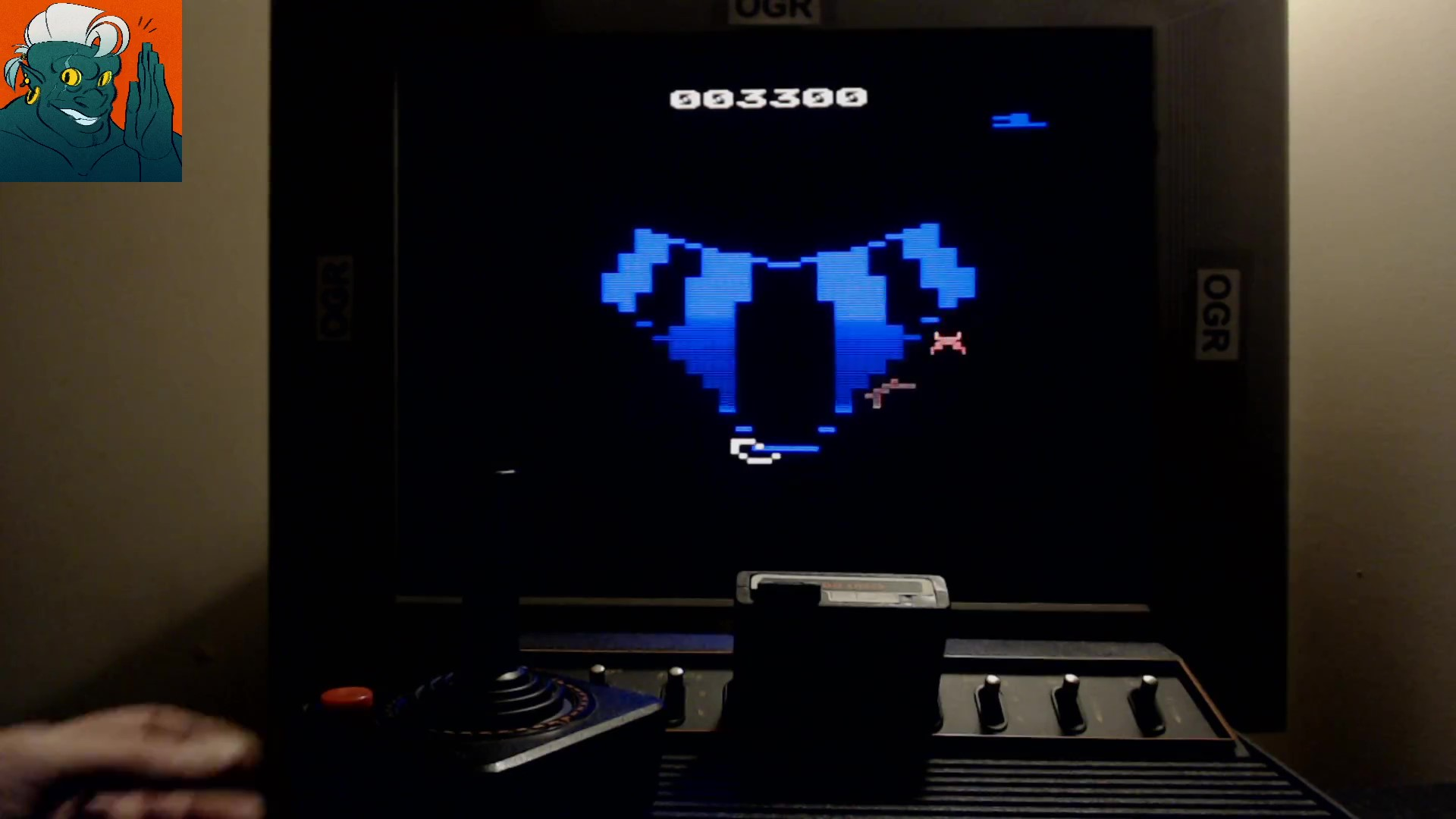 AwesomeOgre: Tempest (Atari 2600) 3,300 points on 2019-10-21 17:29:39