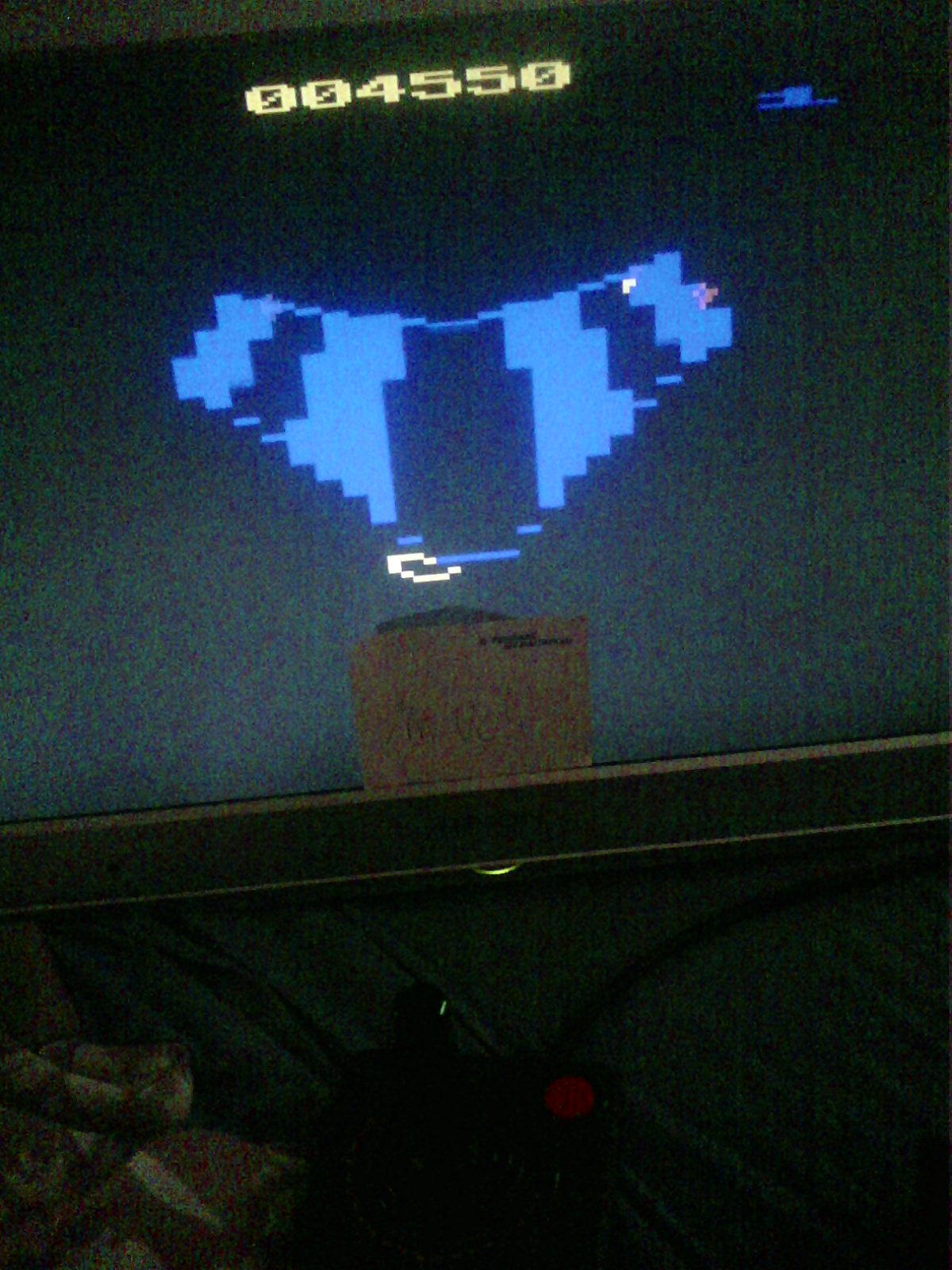 MisterVCS: Tempest (Atari 2600 Emulated) 4,550 points on 2020-07-26 05:14:05