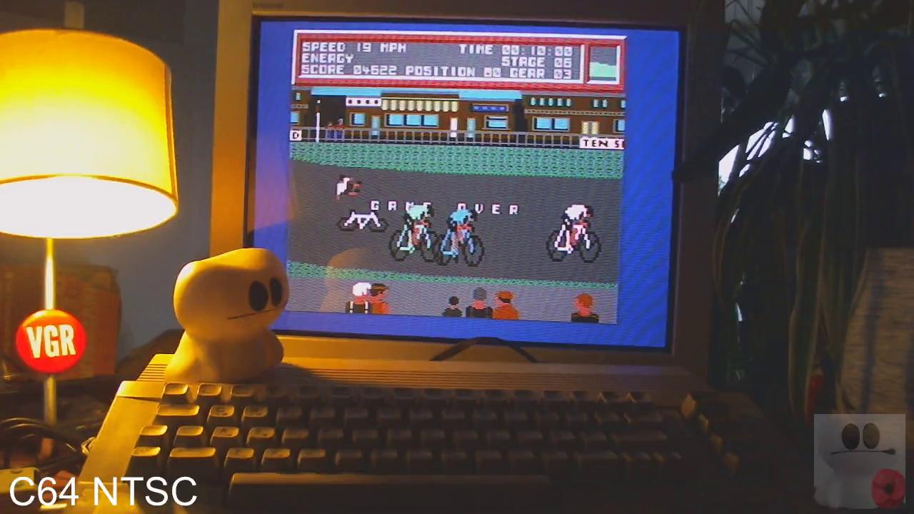 GTibel: Ten Speed (Commodore 64) 4,622 points on 2020-02-13 10:02:04