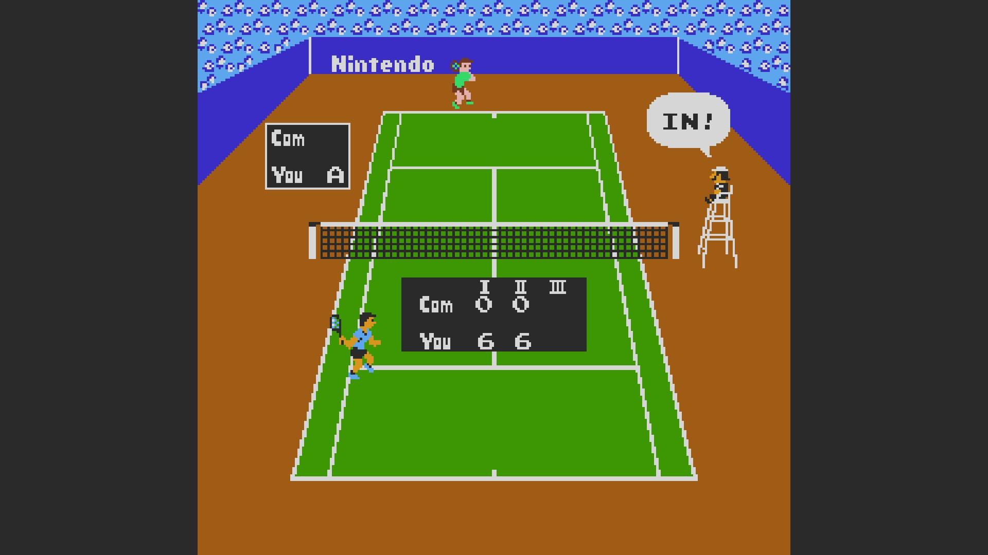 Tennis: Level 1 [Games Won] 24 points