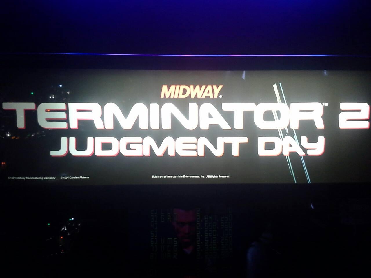 Terminator 2: Judgement Day 104,200 points