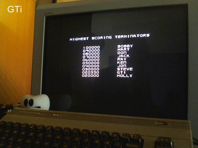 GTibel: Terminator 2: Judgement Day (Commodore 64) 20,550 points on 2017-05-05 11:25:08