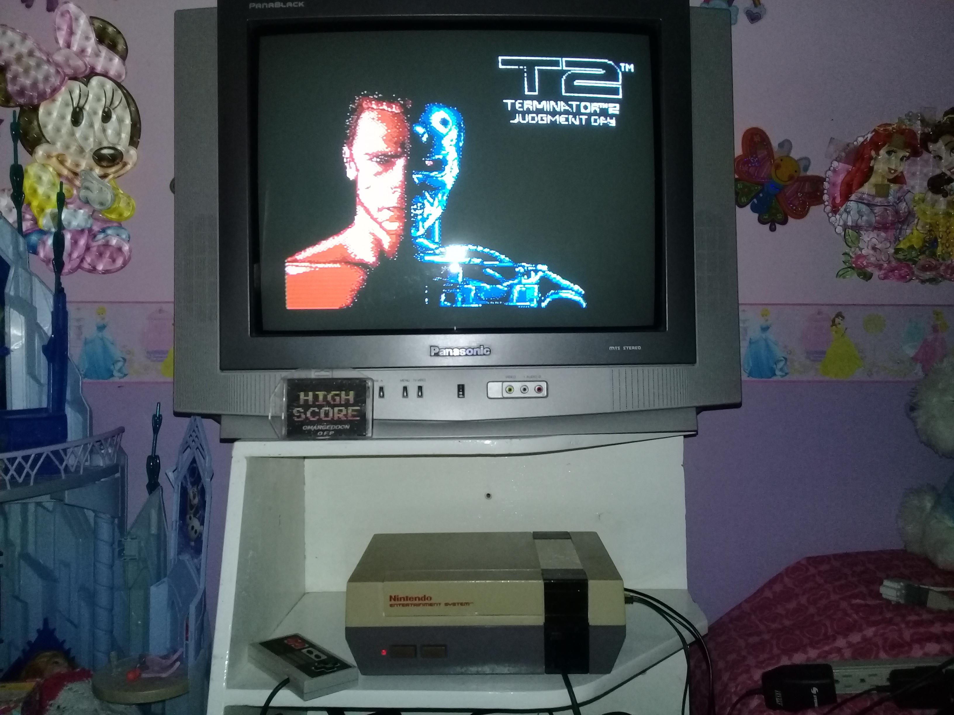 omargeddon: Terminator 2: Judgement Day (NES/Famicom) 7,060 points on 2019-05-01 14:07:12