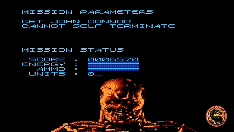 omargeddon: Terminator 2: Judgement Day (NES/Famicom Emulated) 6,570 points on 2019-05-21 18:40:49