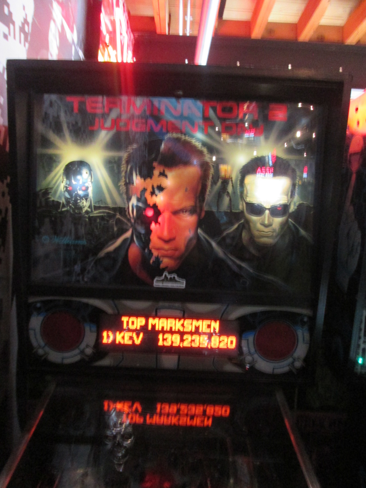 ed1475: Terminator 2: Judgement Day (Pinball: 3 Balls) 3,166,660 points on 2016-08-28 17:00:45