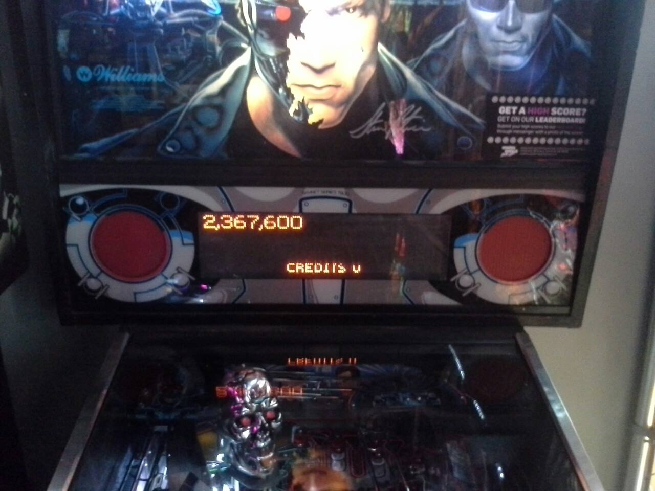Terminator 2: Judgement Day 2,367,600 points