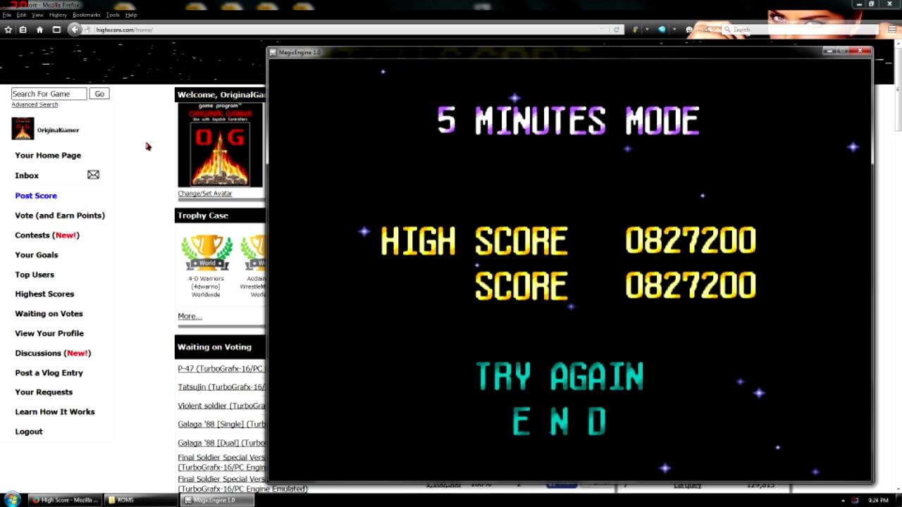 OriginalGamer: Terra Cresta II [5 Minutes Mode] (TurboGrafx-16/PC Engine Emulated) 827,200 points on 2016-05-02 23:38:06