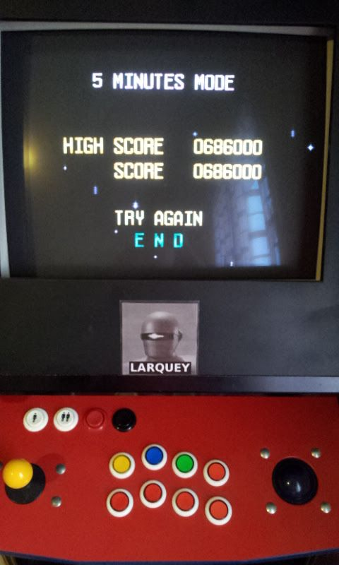 Larquey: Terra Cresta II [5 Minutes Mode] (TurboGrafx-16/PC Engine Emulated) 686,000 points on 2017-08-31 09:40:47