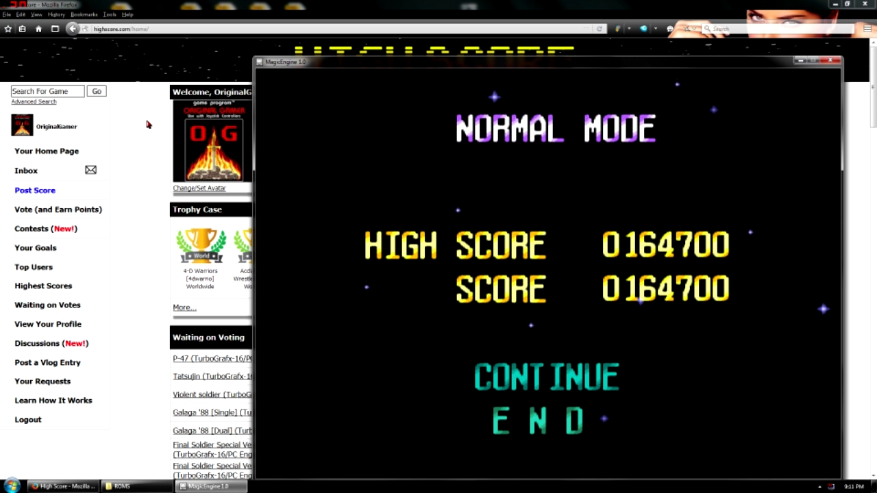 OriginalGamer: Terra Cresta II [Normal] (TurboGrafx-16/PC Engine Emulated) 164,700 points on 2016-05-02 23:34:13
