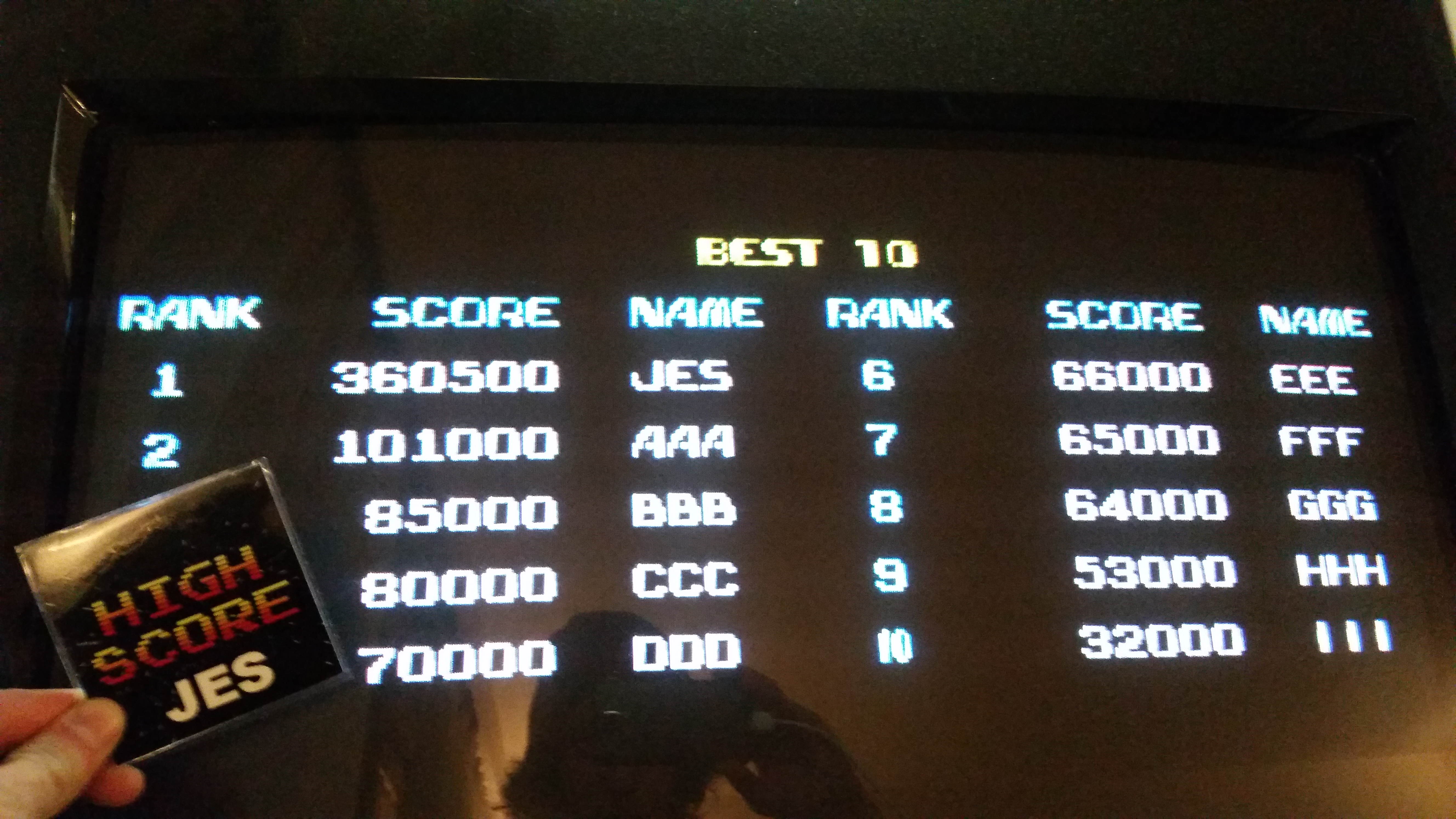 JES: Terra Force (Arcade Emulated / M.A.M.E.) 360,500 points on 2017-01-28 21:05:40
