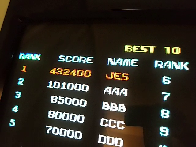 JES: Terra Force (Arcade Emulated / M.A.M.E.) 432,400 points on 2019-01-03 00:15:07