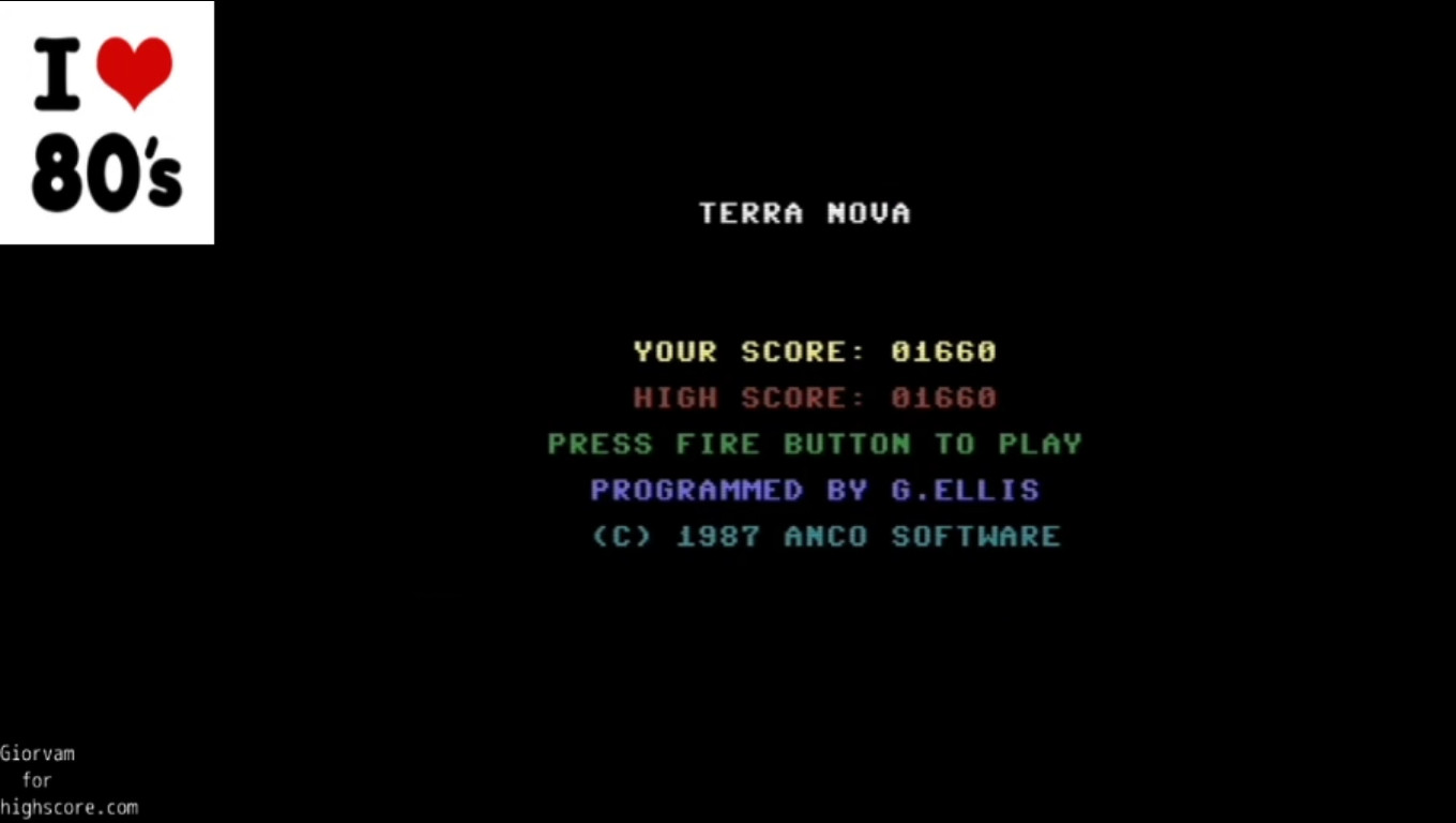 Giorvam: Terra Nova (Commodore 16/Plus4 Emulated) 1,660 points on 2020-01-04 11:15:14