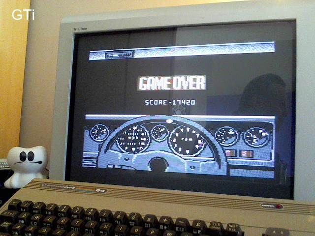GTibel: Test Drive [Disk version] (Commodore 64) 17,420 points on 2016-12-27 04:35:00