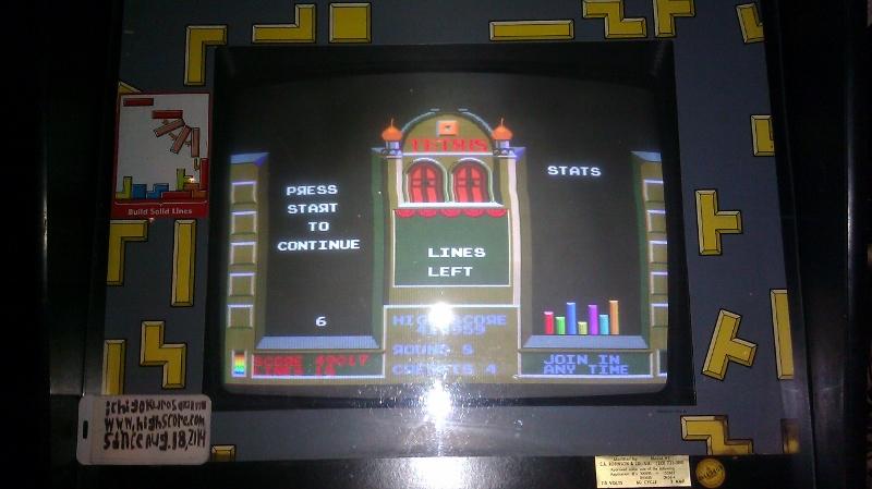 Tetris 49,017 points